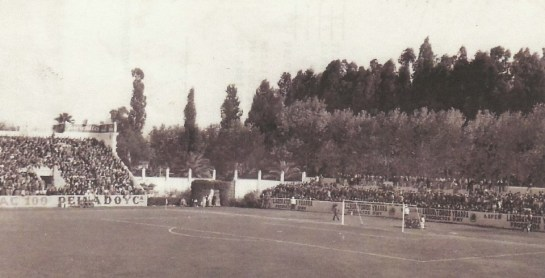 1945-Enero 28-Segunda.-Real Betis Balompié-1CDAlcoyano-1.-71Aniversario.