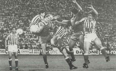 Betis-CD Málaga Liga 1983