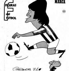 Figuras del Fútbol. Eduardo Anzarda
