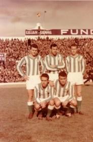 La delantera bética en 1960