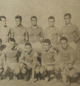 Alineación Recreativo-Betis Amistoso 1958