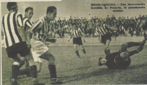 1936-Mayo 17-CptoEspaña.-Betis Balompié-3 (5) Girona Cf-2 (3).-80Aniversario.