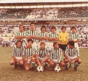 Alineación Betis-Sevilla Trofeo Ciudad de Sevilla Juvenil 1977