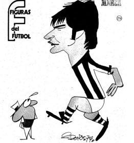 Figuras del Fútbol. Javier López