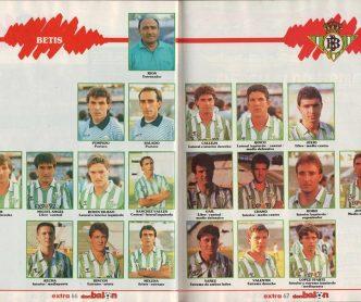 El Betis en Don Balón 1988