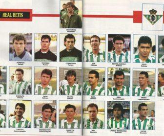 El Betis en Don Balón 1990