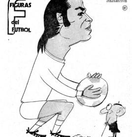 "Figuras del fútbol. Joaquín Sierra ""Quino"""