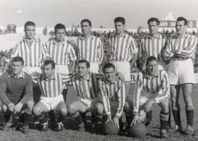 Alineación Betis-Recreativo Liga 1954