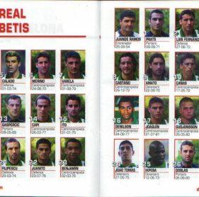 El Betis en Don Balón 2001