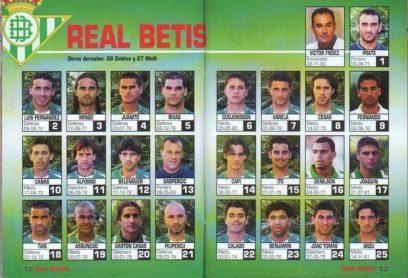 El Betis en Don Balón 2002