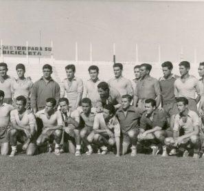 Entrenamientos del Betis 1957