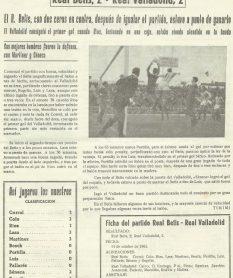 1962-Octubre 14.-1División.-Real Betis Balompié-2 Real Valladolid Deportivo-2.-54Aniversario.