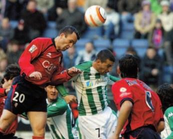 Osasuna-Betis. Los béticos que más han jugado