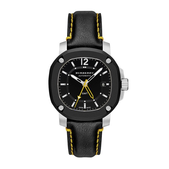*Burberry 1350 43 MM GMT Automatic