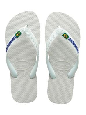 Unisex - Brasil Logo White C
