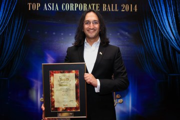Papa CJ was voted 'Asia's Best Stand-up Comedian' by Top 10 Magazine in Kuala Lumpur, last month