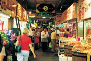 Adelaide Ventral Market, the largest covered produce market in the Southern Hemisphere