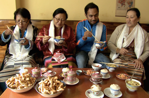 sikkim wedding food