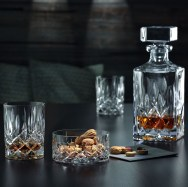 Whiskey Decanter and Tumblers