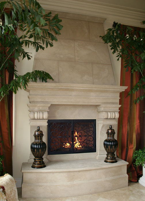 Fireplace Mantel In San Diego