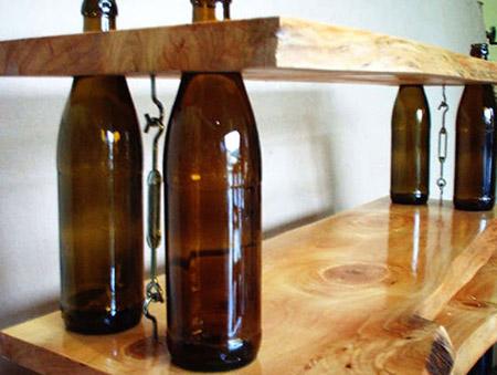 Manualidades con botellas de vidrio y plástico