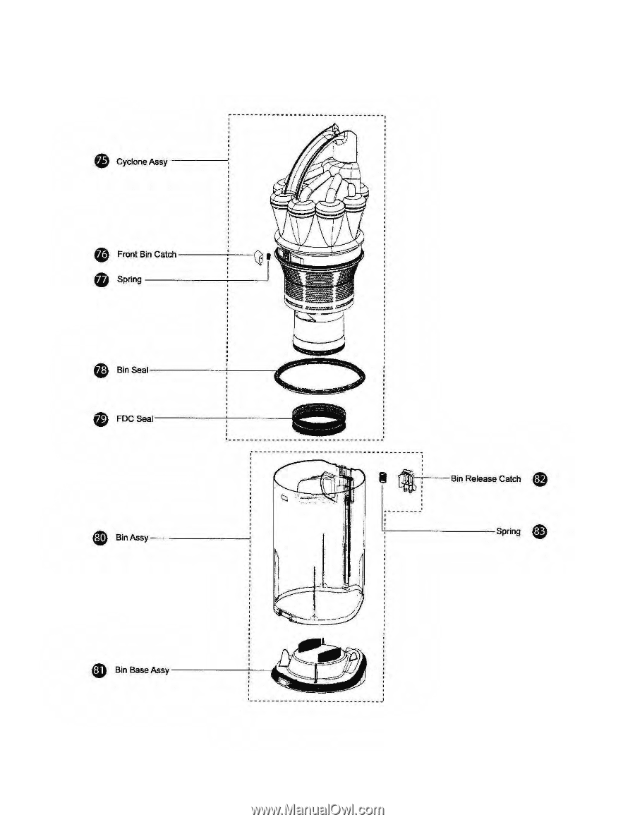 motor wiring diagram for a dyson dc17
