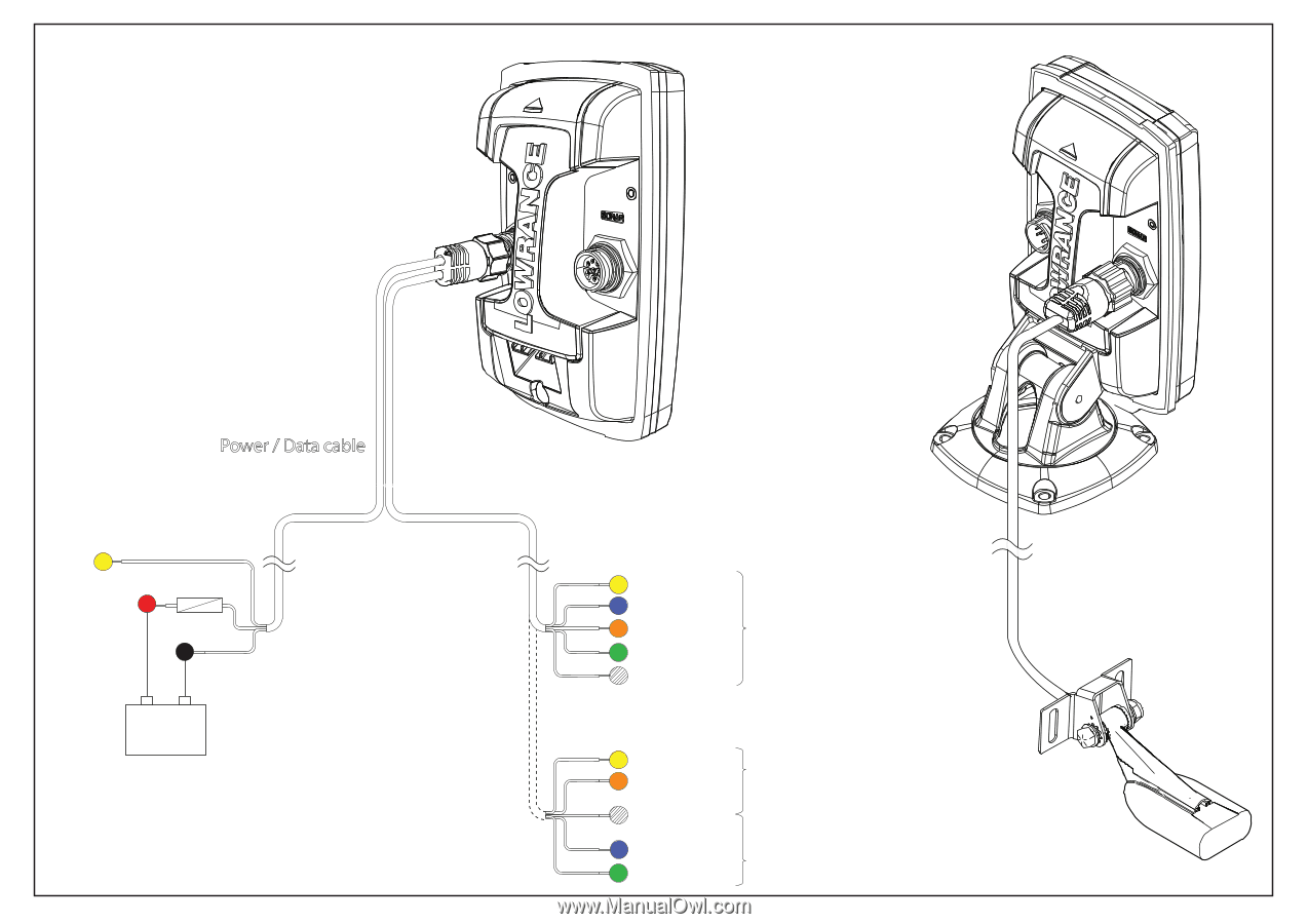 wiring instructions for lowrance elite 5 hdi