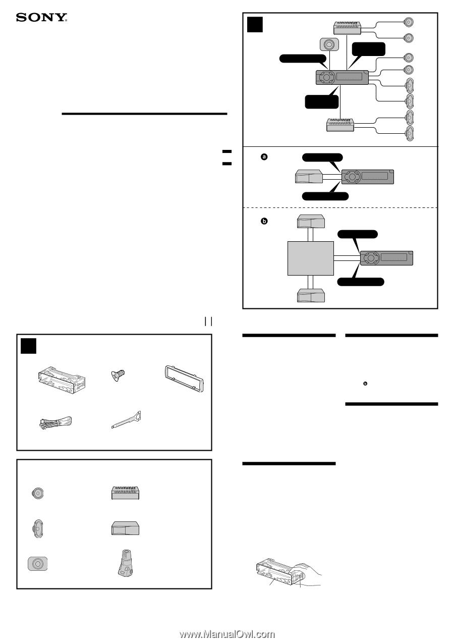 sony cdx gt11w wiring diagram