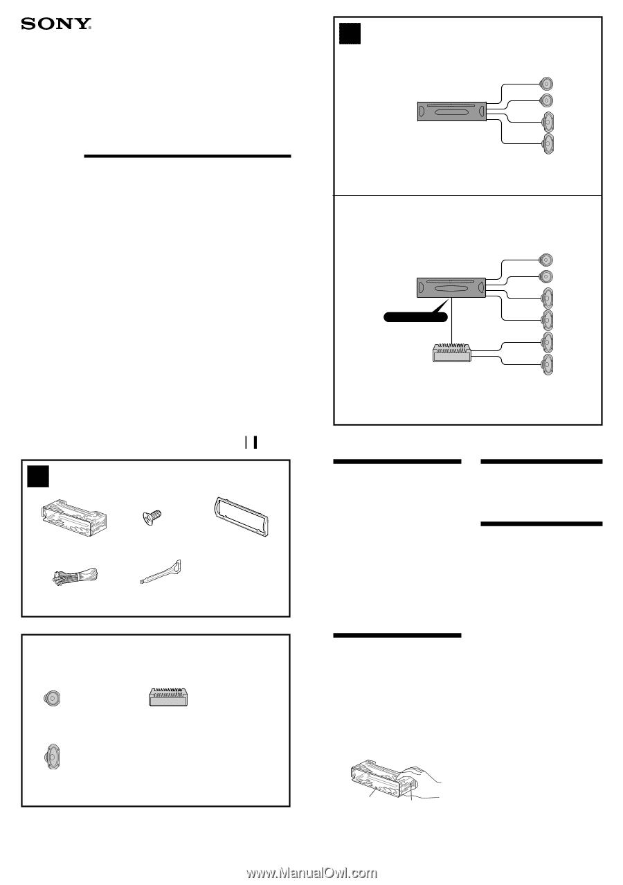 sony cdx sw200 wiring harness diagram