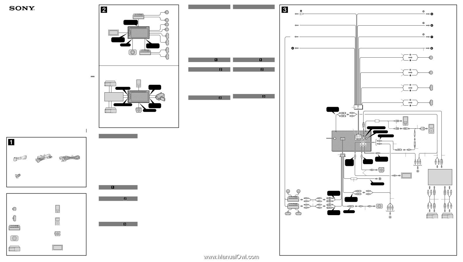 sony xav 60 wiring diagram