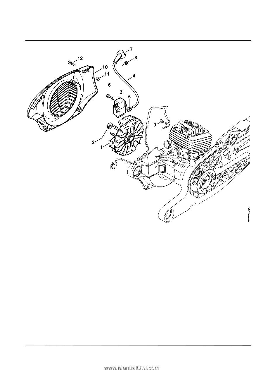 ts 800 parts manual diagram