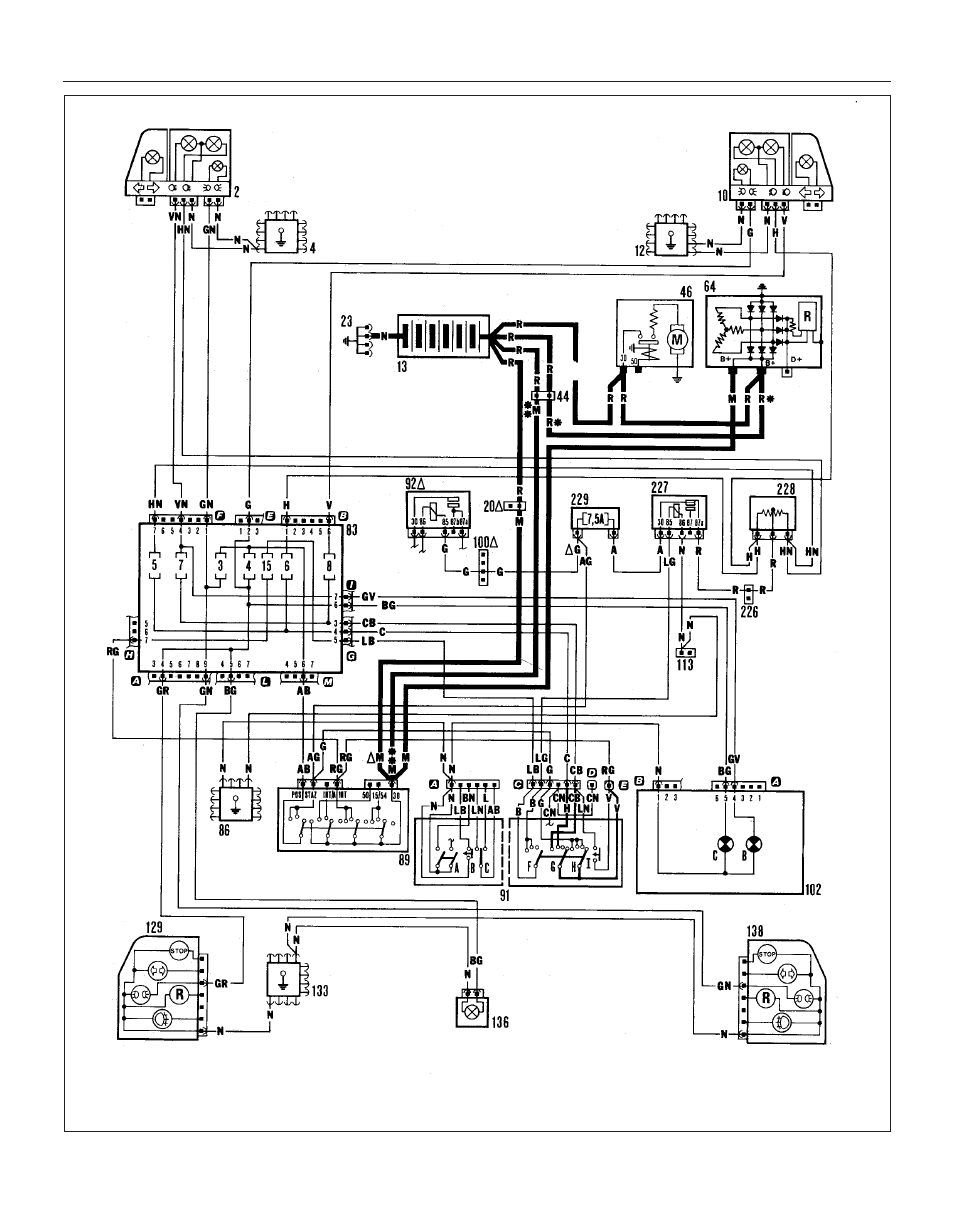 fiat uno ignition wiring diagram