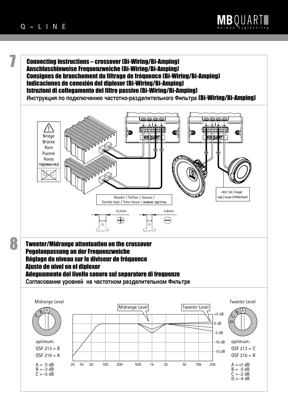 dbx crossover wiring diagram