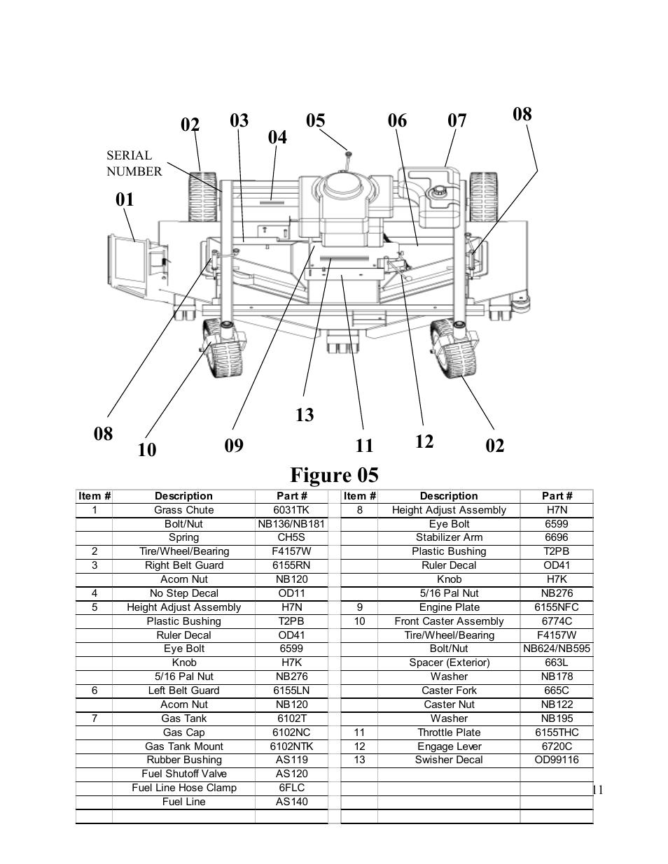 swisher t 60 wiring diagram