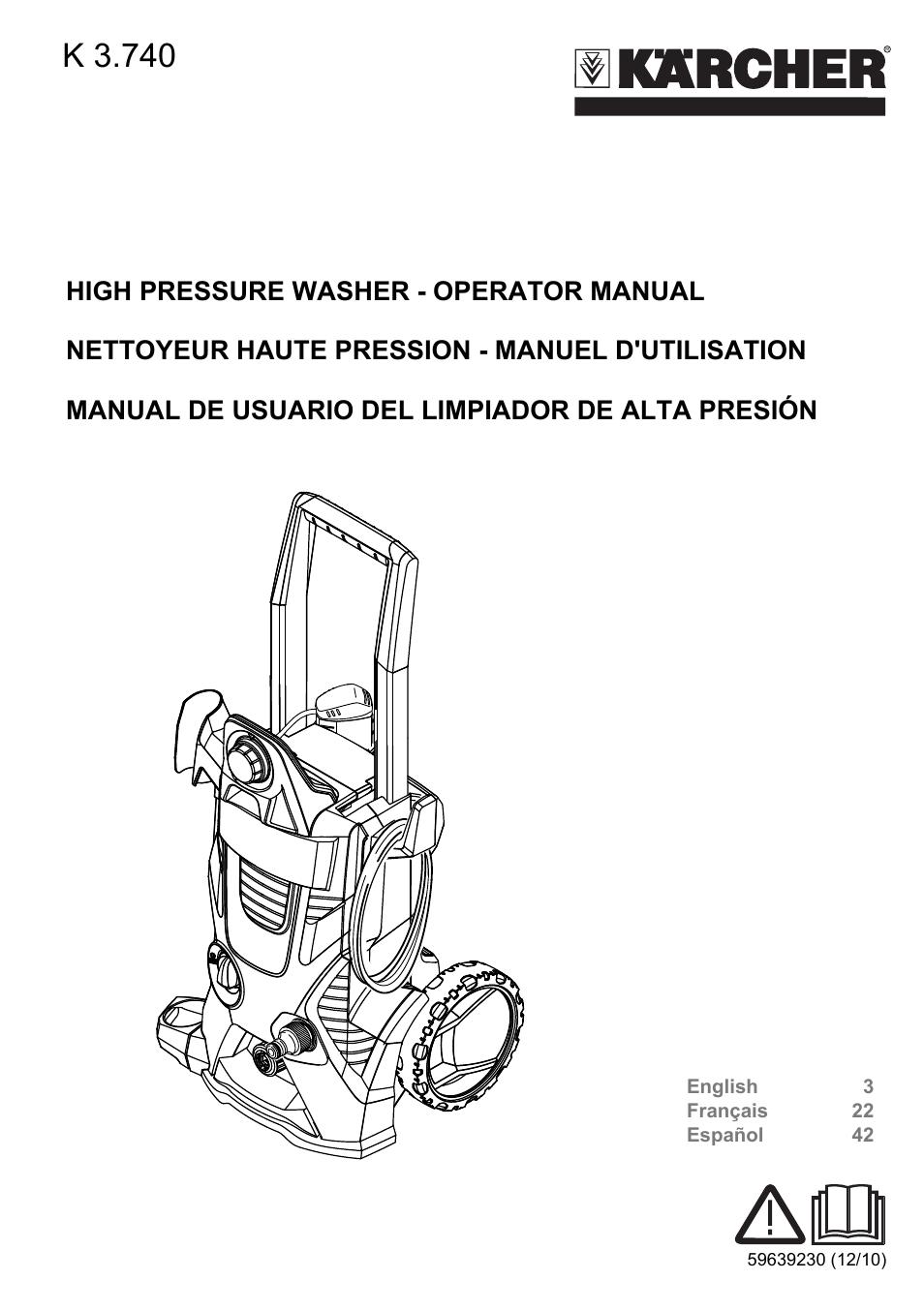 karcher pressure washer del Schaltplan