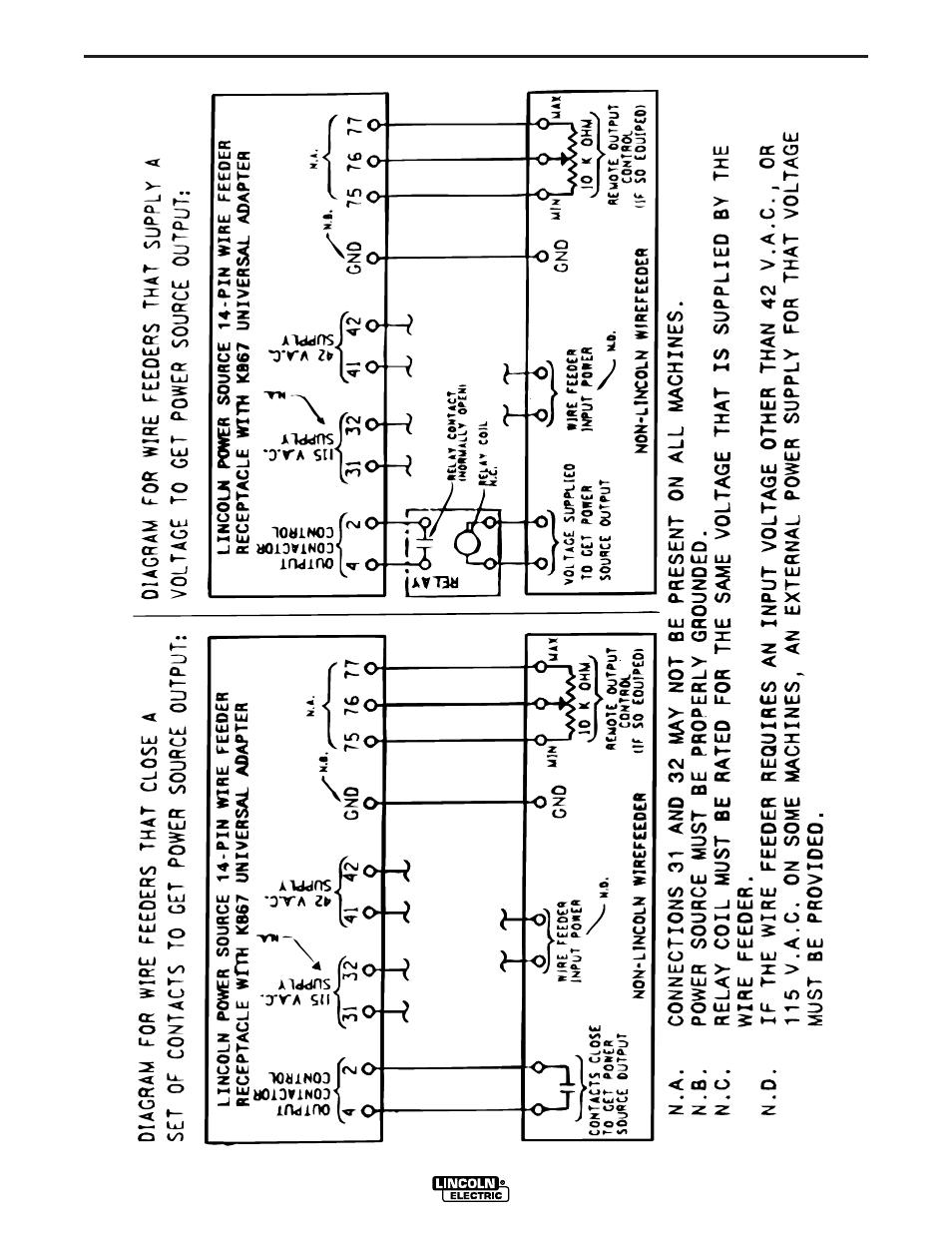 lincoln 100sg wiring diagram