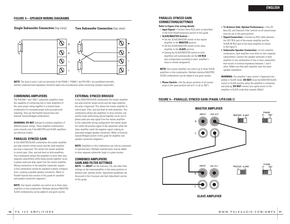polk audio monitor 70 wiring diagram