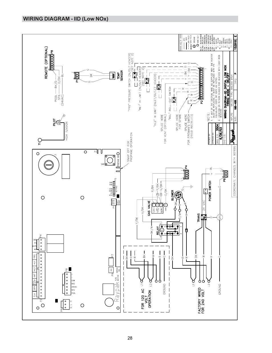 hayward pool heater diagram wiring diagram schematic
