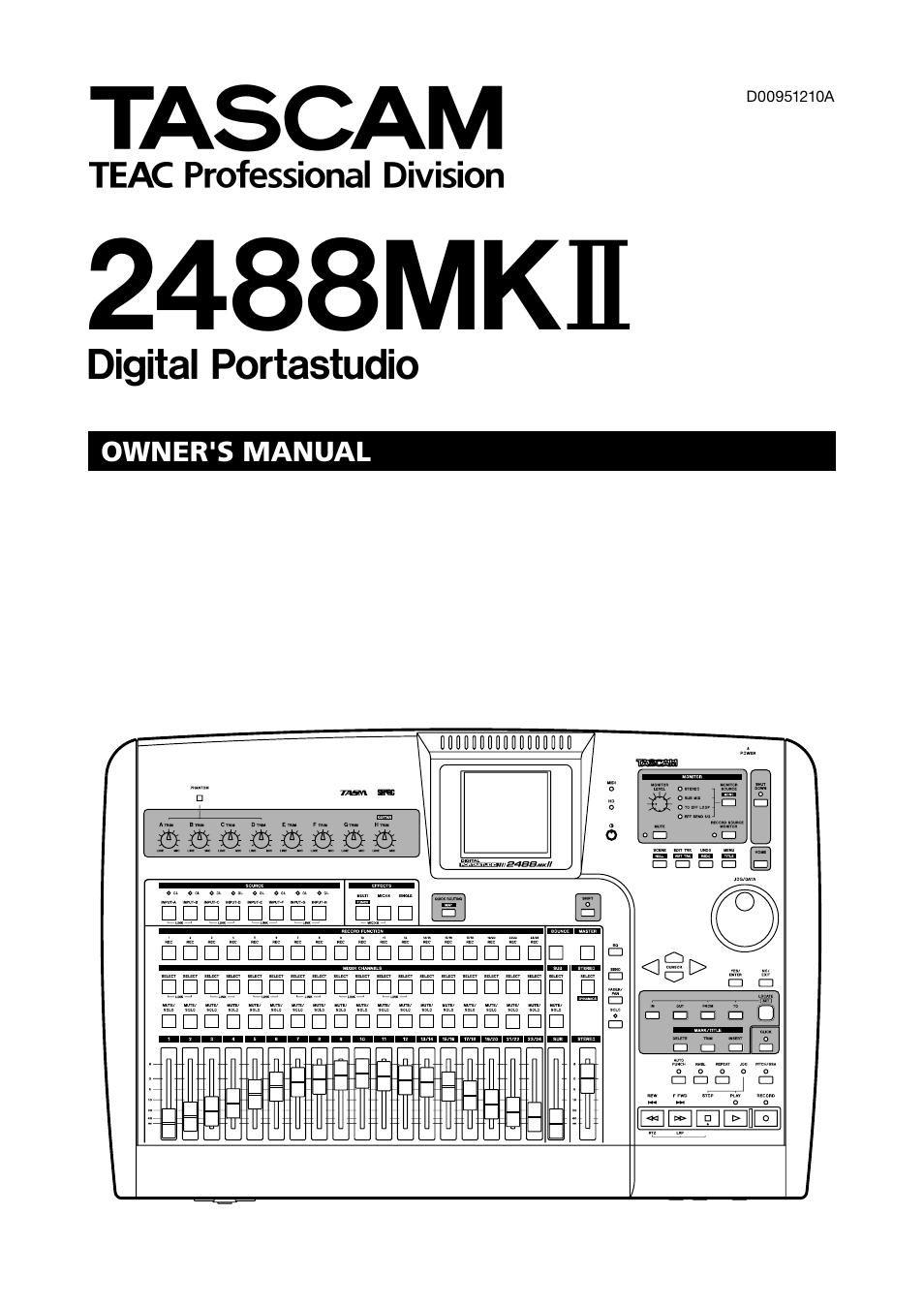 tascam ssr 100 schematics