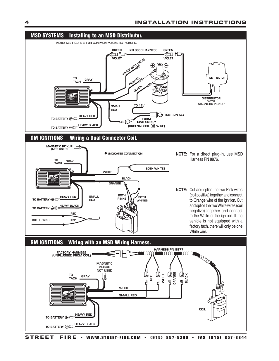Msd 5520 Ignition Wiring Diagram Auto Electrical 1983 Ford F 150 300