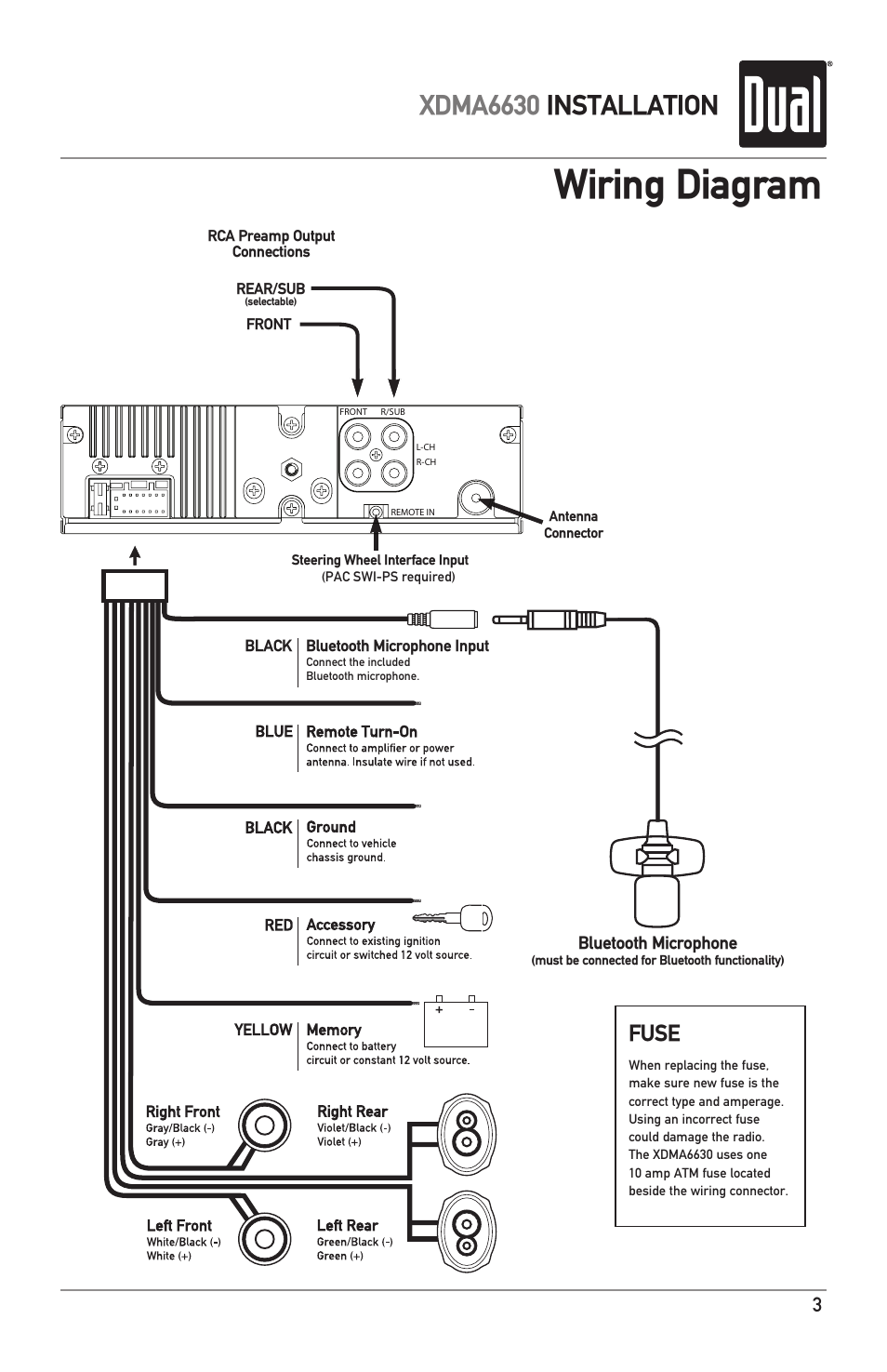 cannon ua 11 mic cable wiring diagram