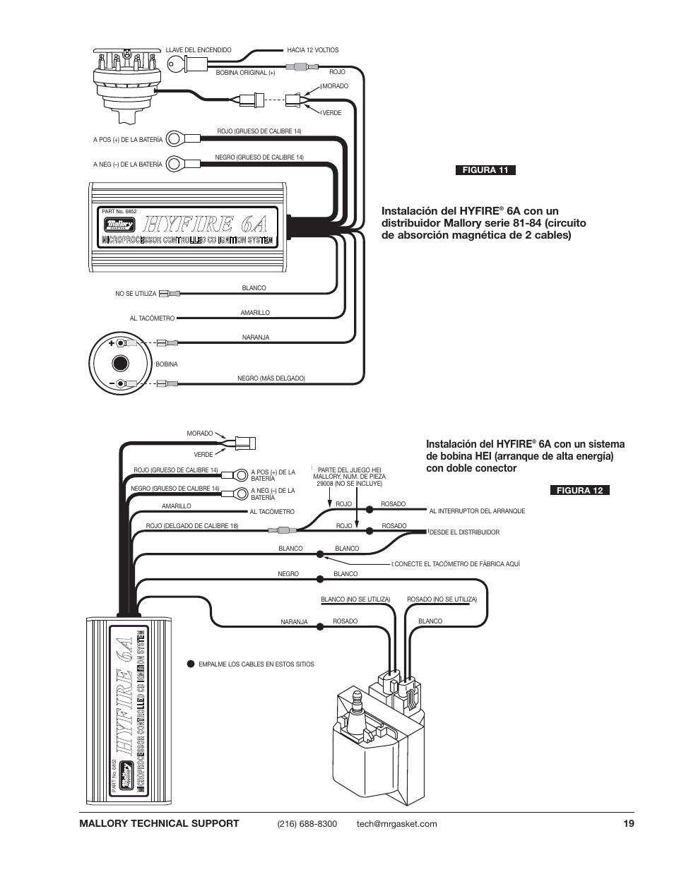 Msd 6al 6420 1978 Ford Wiring Diagram Auto Electrical Flamethrower