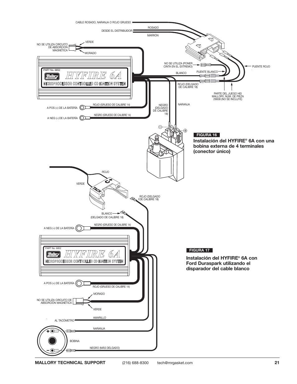 mallory 6a high fire wiring diagram