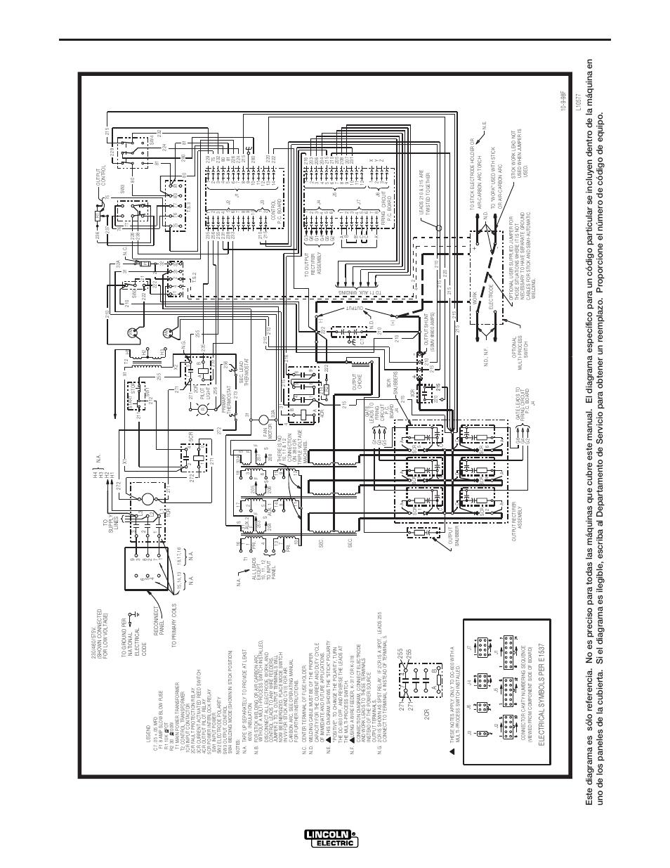 lincoln vantage 400 wiring diagram