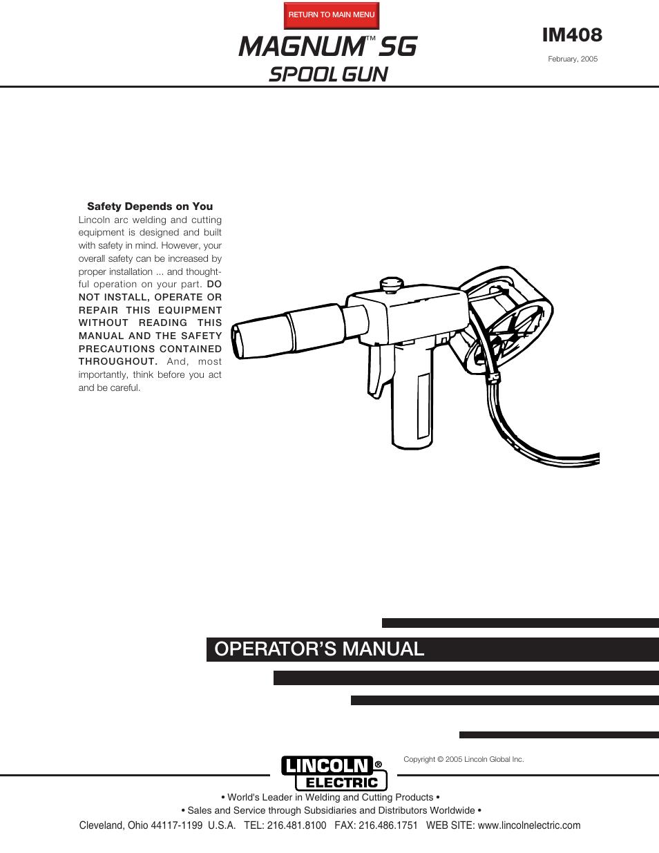 wiring diagram lincoln spool gun