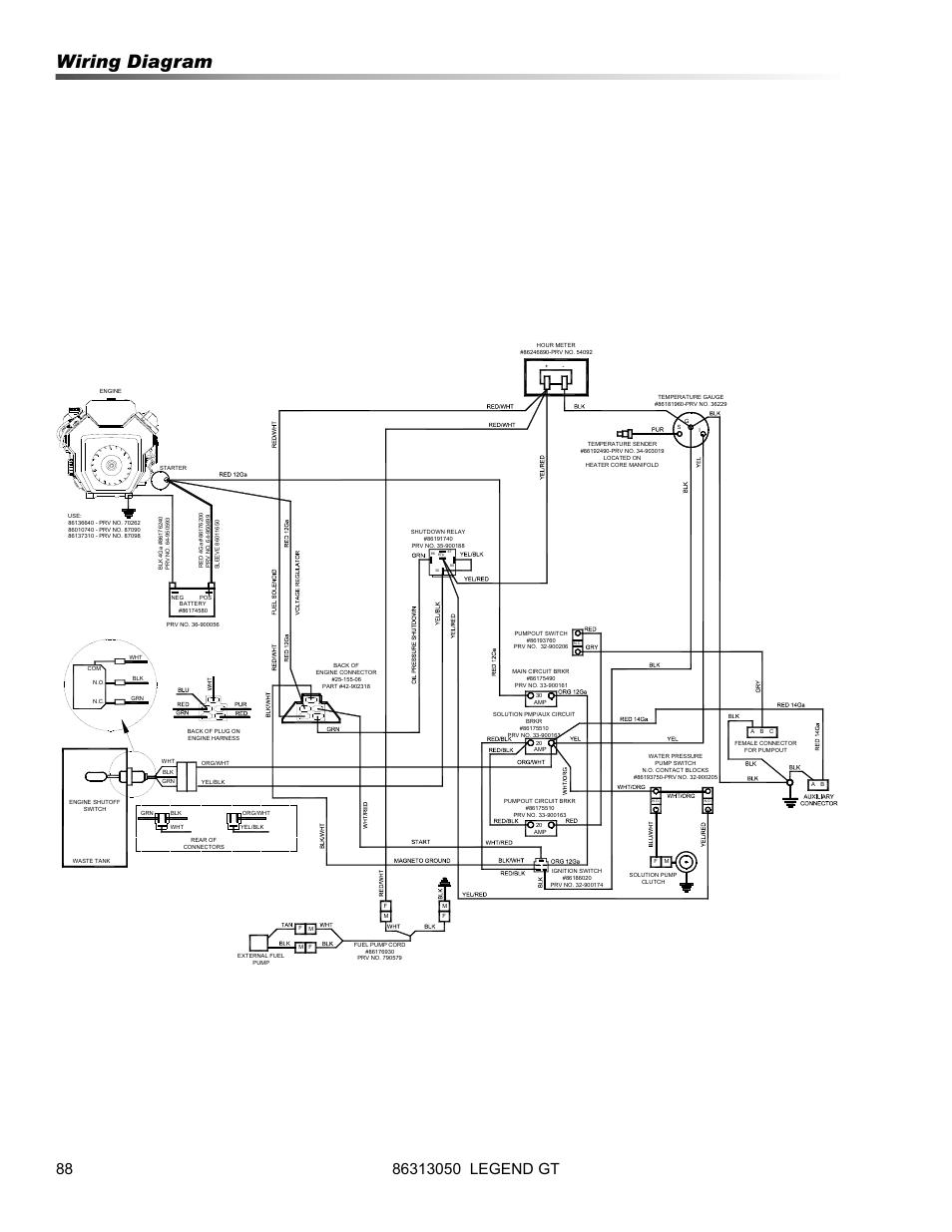starter wiring diagram for 72 c 20