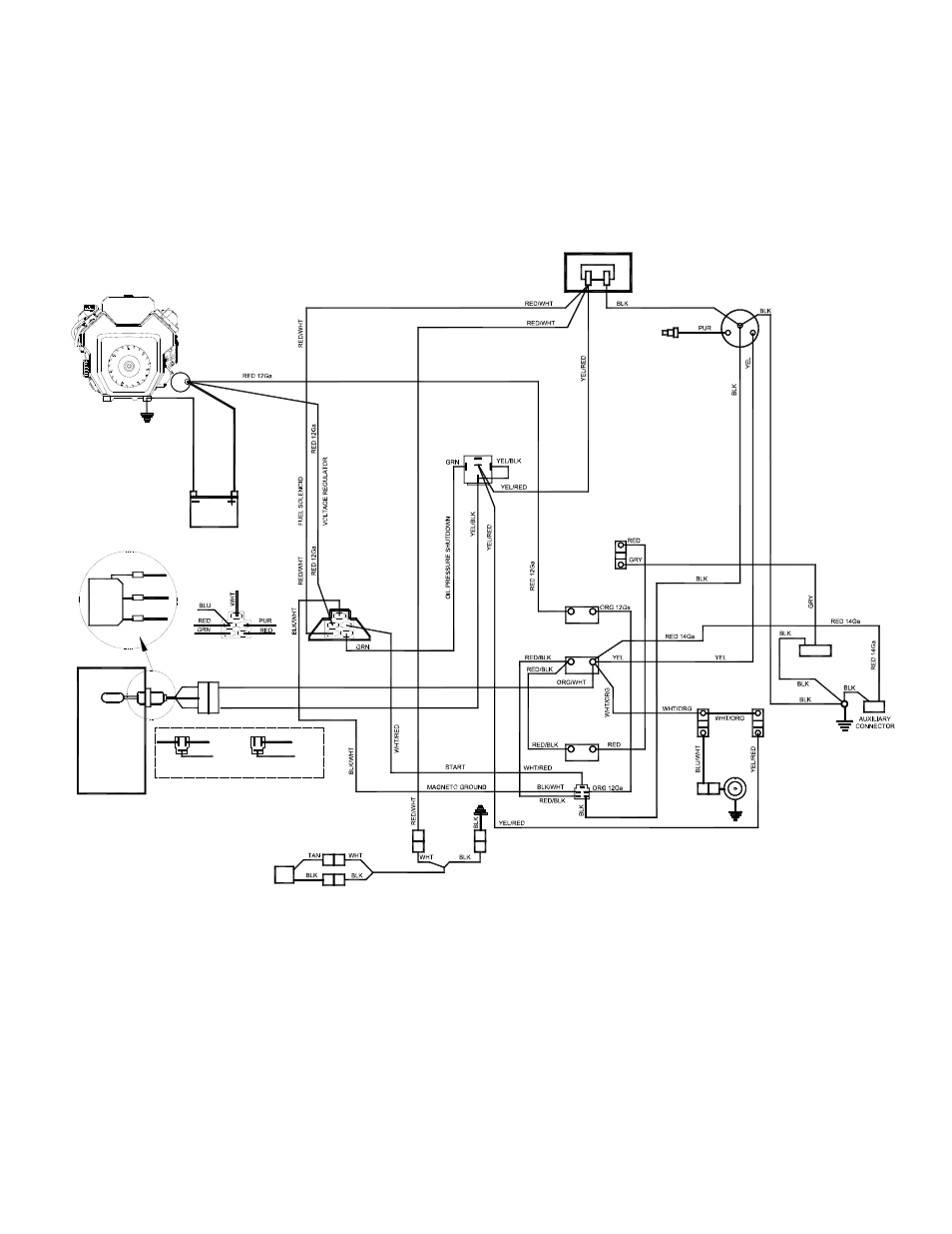 wiring diagram of water pump