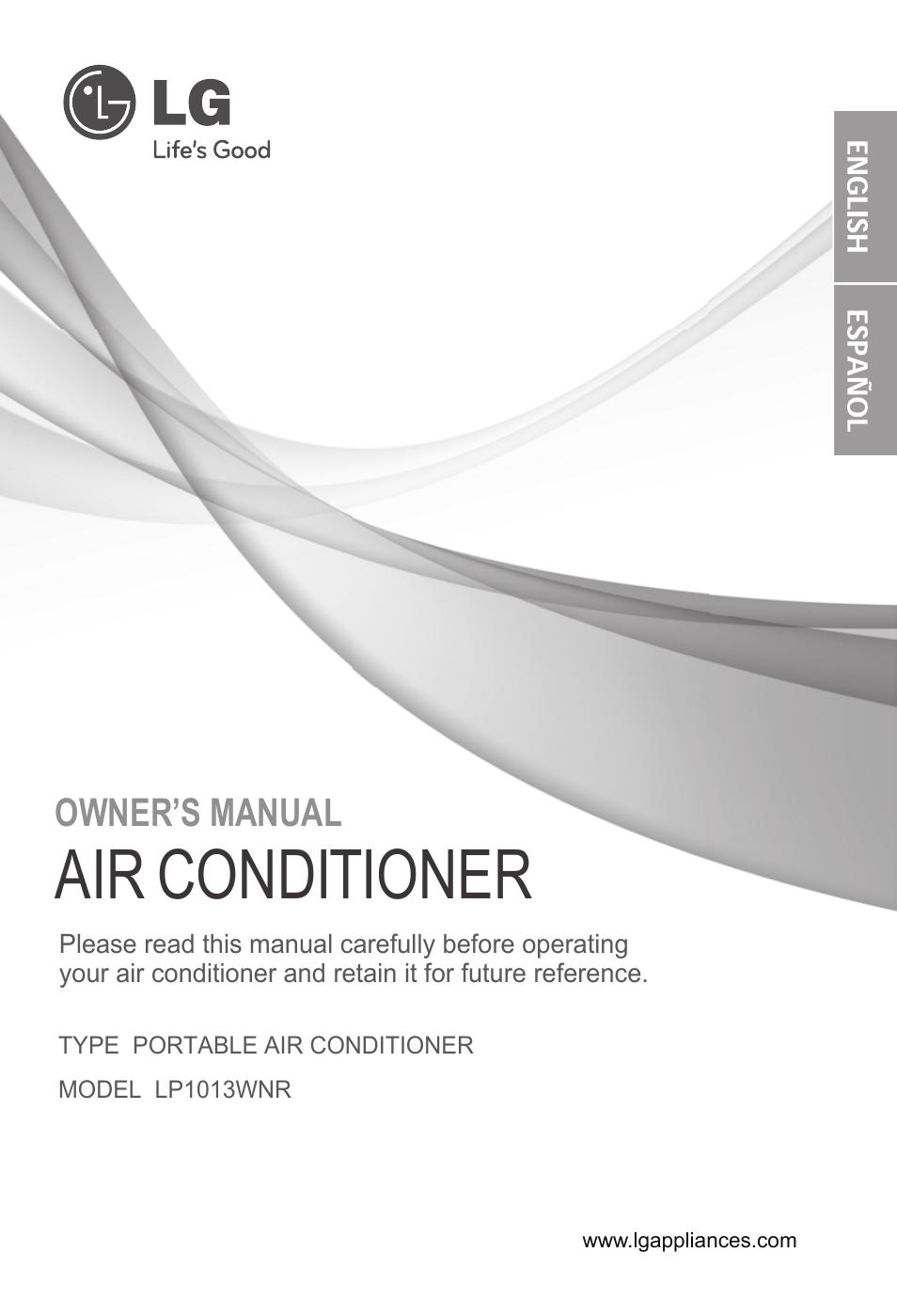 ge air conditioner user manual