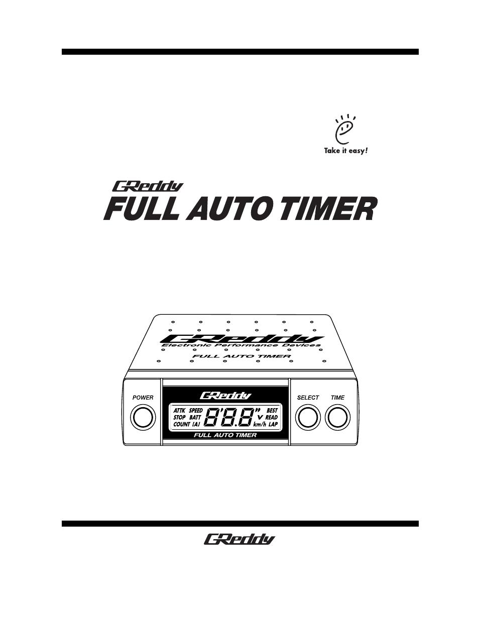 turbo timer manual