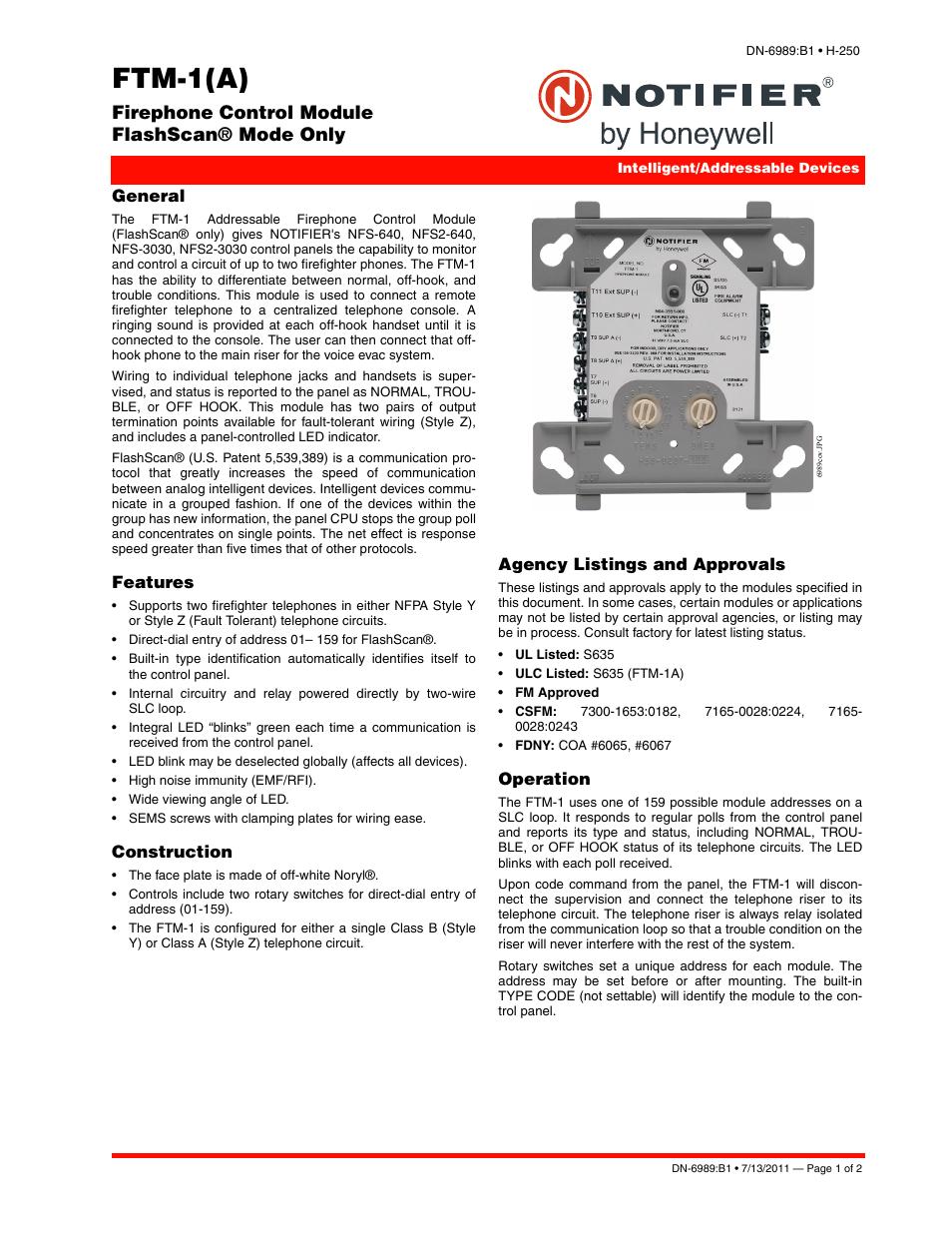 notifier intelligent control panel wiring manual